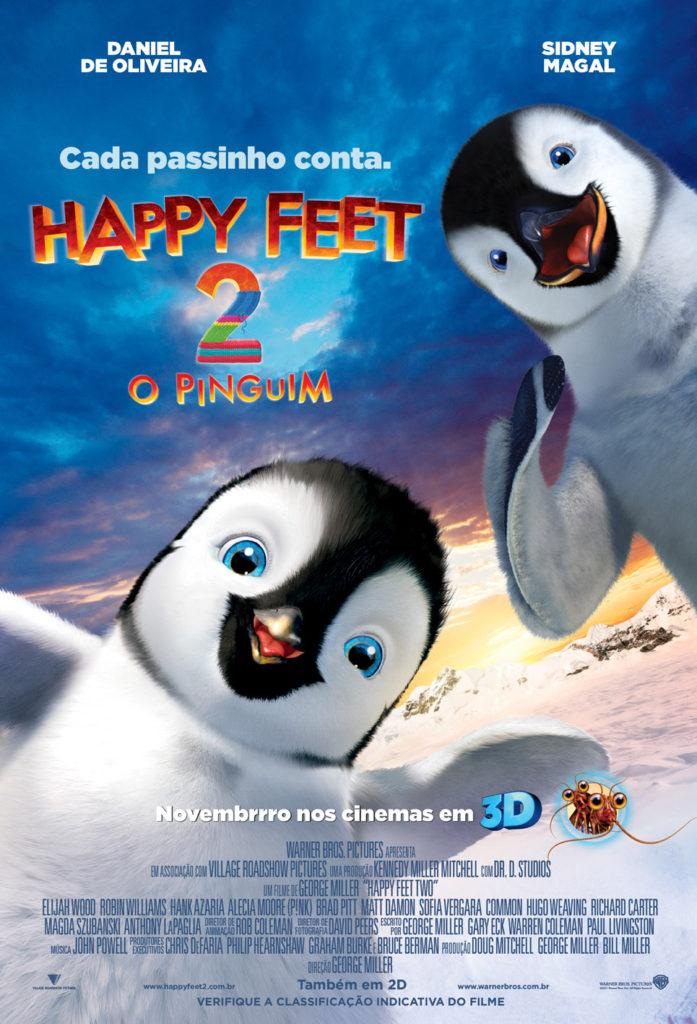 "CineOrna | ""Happy Feet 2: O Pinguim"""