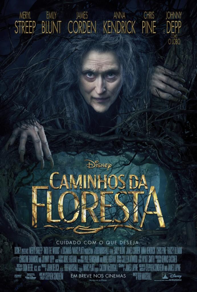 CineOrna | Caminhos Da Floresta DISNEY PÔSTER
