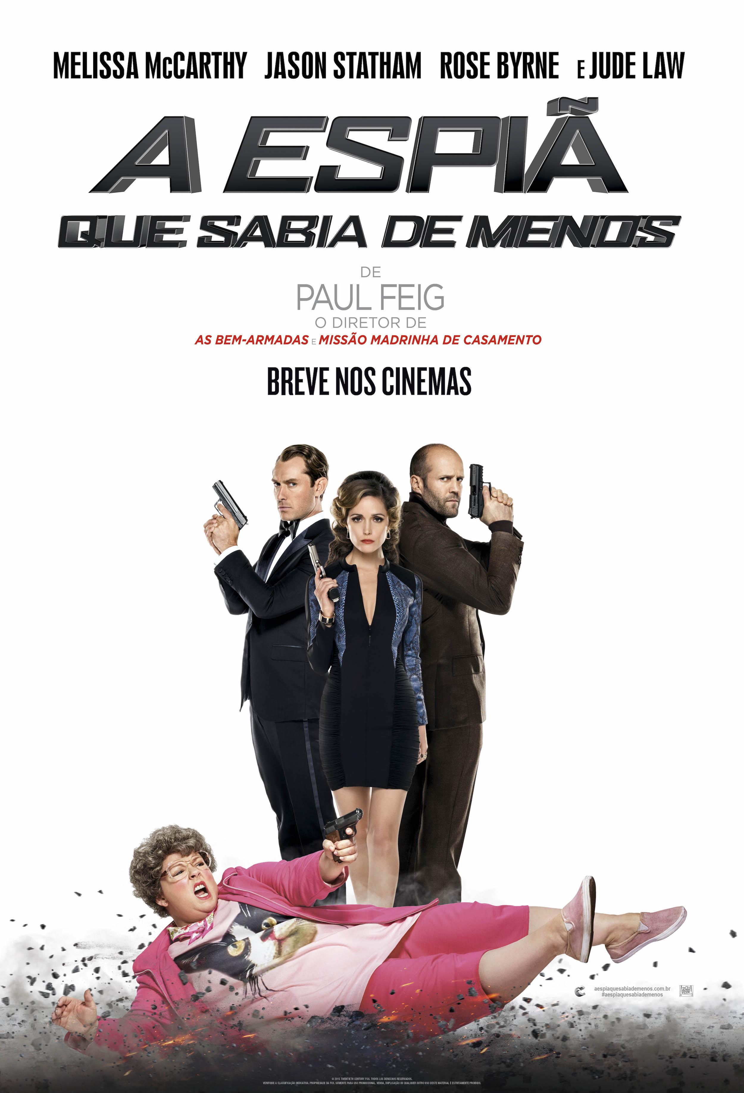 CineOrna | A Espiã Que Sabia de Menos - PÔSTER