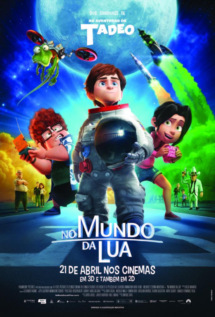 CineOrna | No Mundo da Lua - PÔSTER DATA