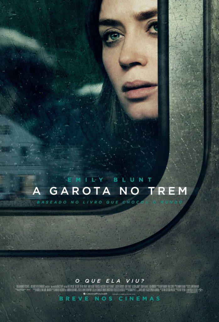 CineOrna | A Garota No Trem - Pôster