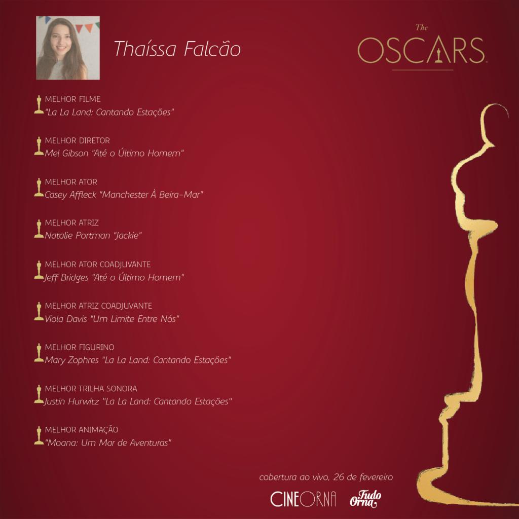 Bolão_Thaíssa_Oscar2017