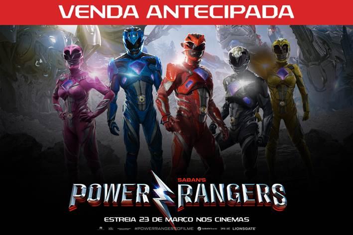 CineOrna | Power Rangers - Pré Venda