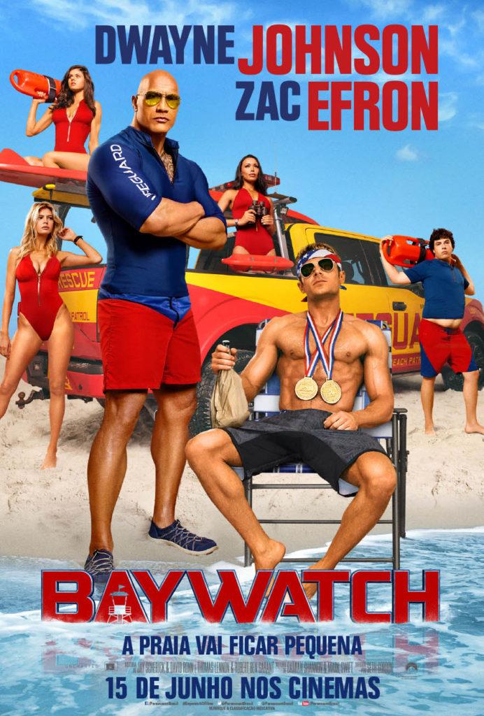 "CineOrna | ""Baywatch"" - PÔSTER"