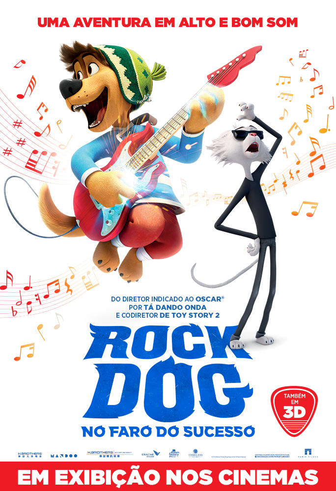 "CineOrna | ""Rock Dog"" PÔSTER"