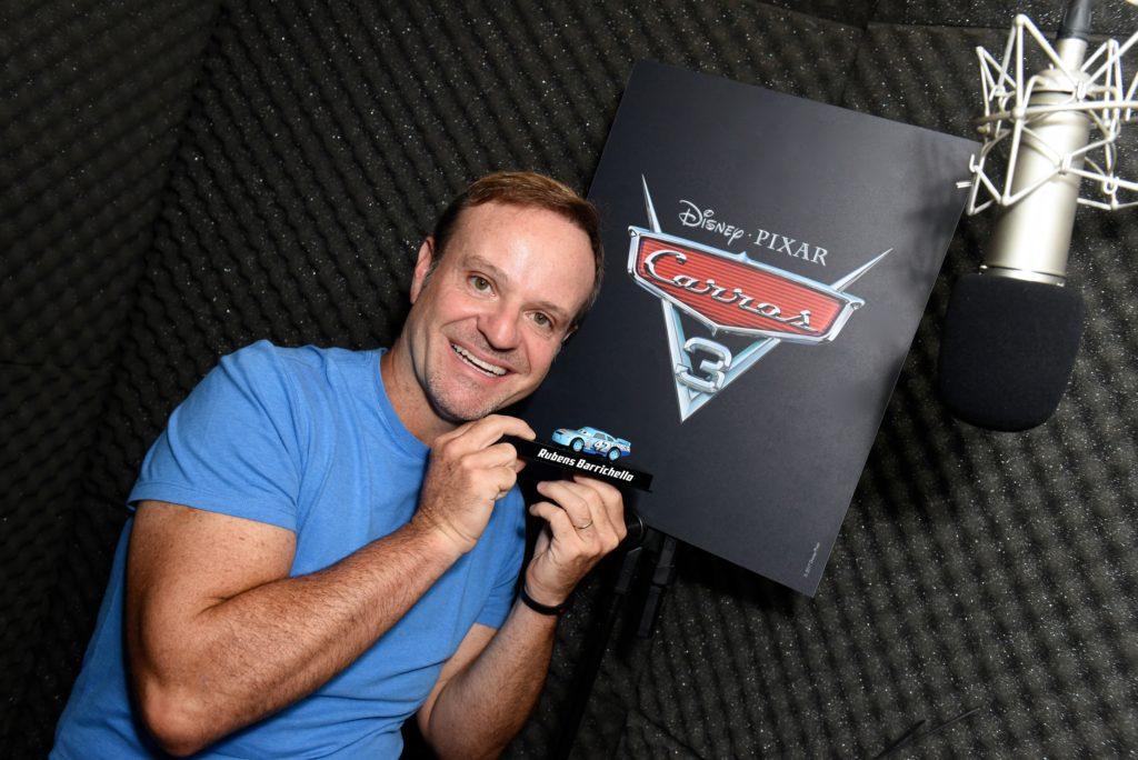 "CineOrna | Rubens Barrichello - ""Carros 3"""