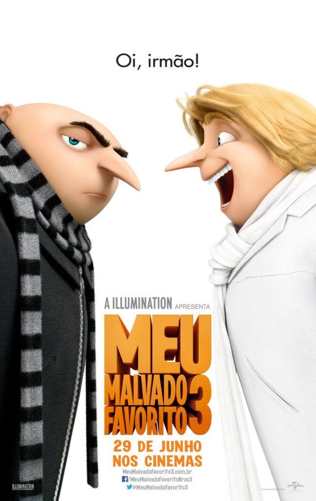 "CineOrna | ""Meu Malvado Favorito 3"""