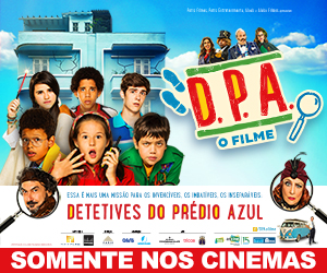 """Detetives do Prédio Azul: O Filme"" | Banner Lateral Geral"